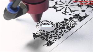 Cắt gia công kim loại bằng tia laser fiber