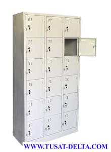 Tủ sắt locker 18 ngăn