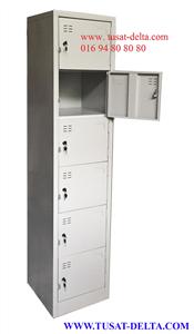 Tủ Sắt Locker 6 Ngăn
