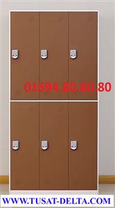Tủ Locker Đựng Đồ Cá Nhân 6 Ngăn Khóa Điện Tử, Thẻ Từ
