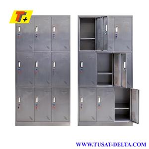 Tủ locker 9 ngăn inox
