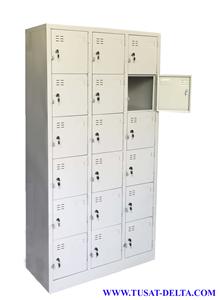 Tủ sắt đựng đồ cá nhân nhiều ngăn