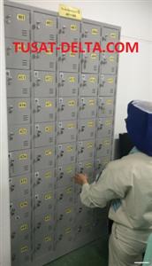 Tủ locker sắt đựng điện thoại nhiều ngăn