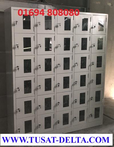 Tủ Locker 30 Ngăn Cánh MICA