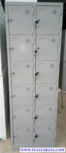 Tủ locker 12 ngăn bằng sắt giá rẻ