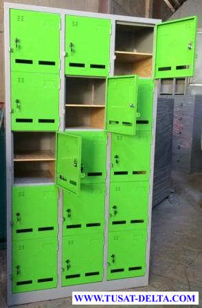 Tủ sắt locker đựng đồ sản xuất theo yêu cầu