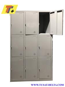 Tủ locker 9 cánh không khoá