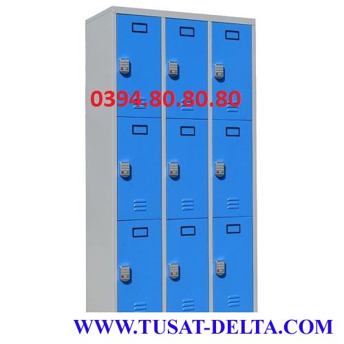Tủ Locker 9 Ngăn Khóa Điện Tử